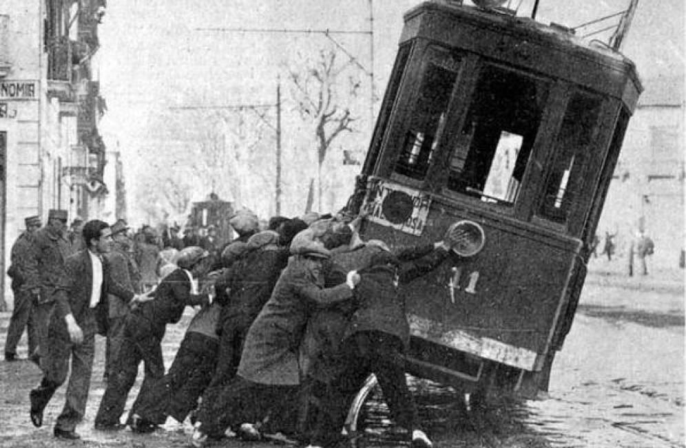 85 aniversario de la insurrección anarquista de diciembre