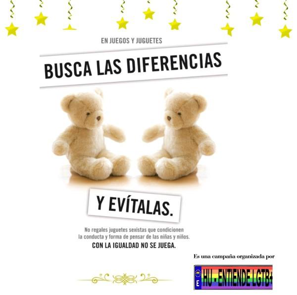 campaña contra los juguetes sexistas (HU-Entiende)