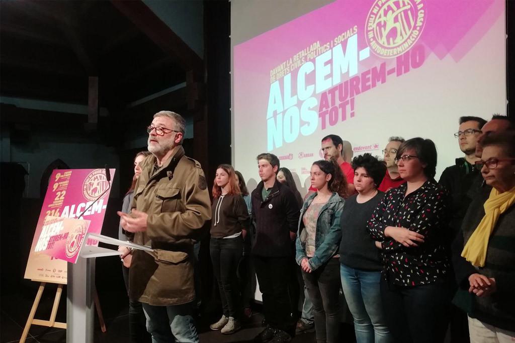"""L'Esquerra Independentista crida a """"aturar-ho tot"""" des del primer dia de judici del 1-O"""