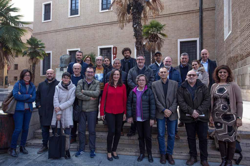 33 entidades apoyan el Plan de Inversión 2018-2023 de Zaragoza Vivienda