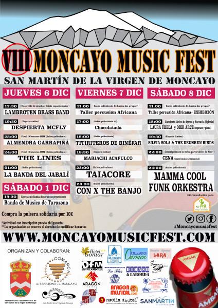 moncayo music fest 2018 CARTEL definitivo