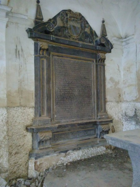 monumento funerario Conde de Aranda