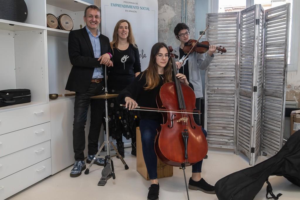 Nace la orquesta infantil de Zaragoza