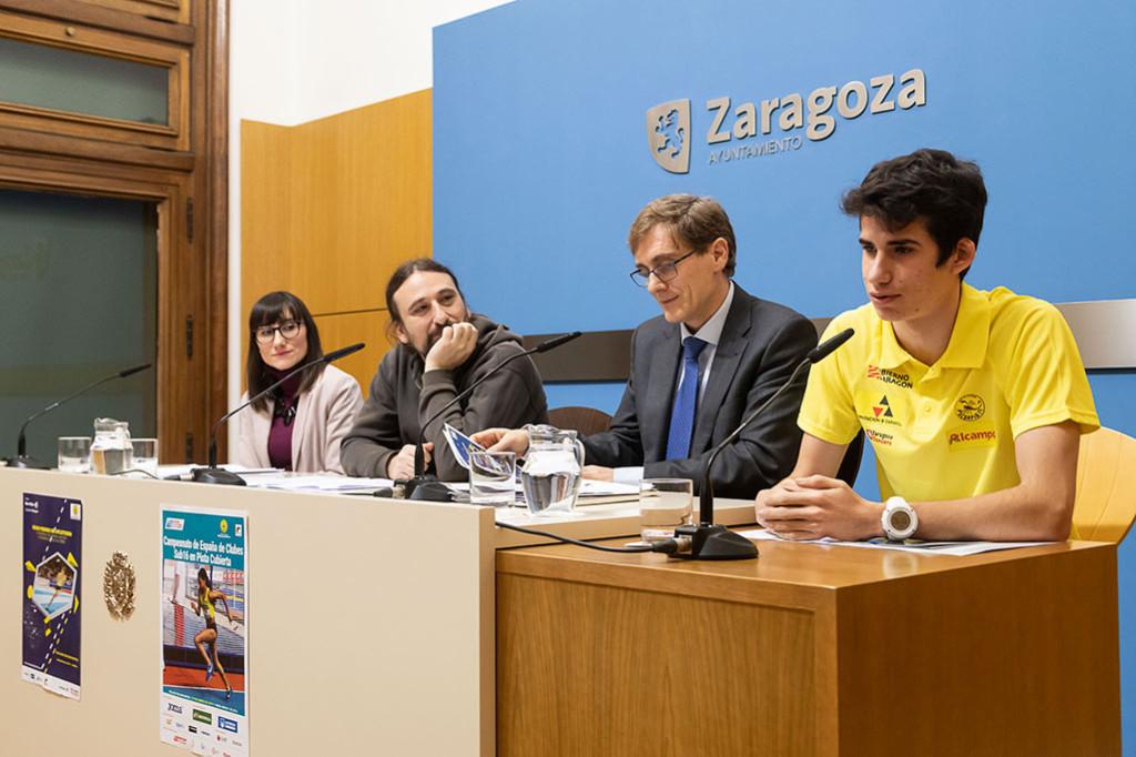 El mejor atletismo en pista cubierta se da cita en Zaragoza con la vista puesta en el Europeo