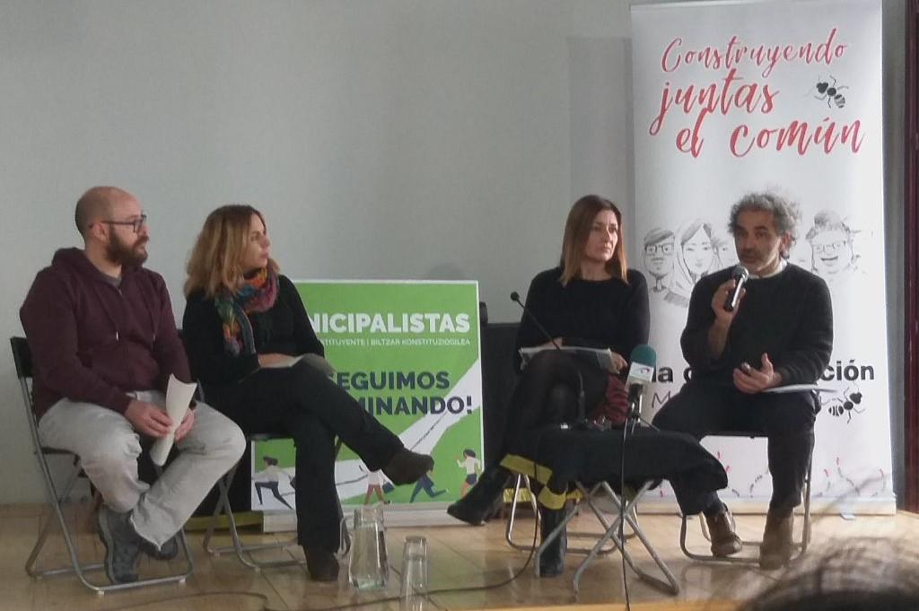 Alto Aragón en Común presenta en Madrid la plataforma estatal 'Municipalistas'