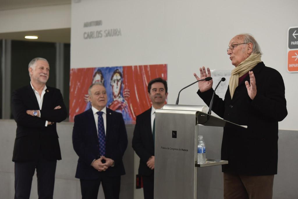 Uesca rinde homenaje al cineasta Carlos Saura