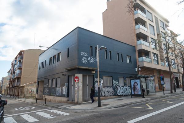 Sede de la Casa de la Memoria de Zaragoza, en el barrio de Torrero. Foto: Pablo Ibáñez (AraInfo)
