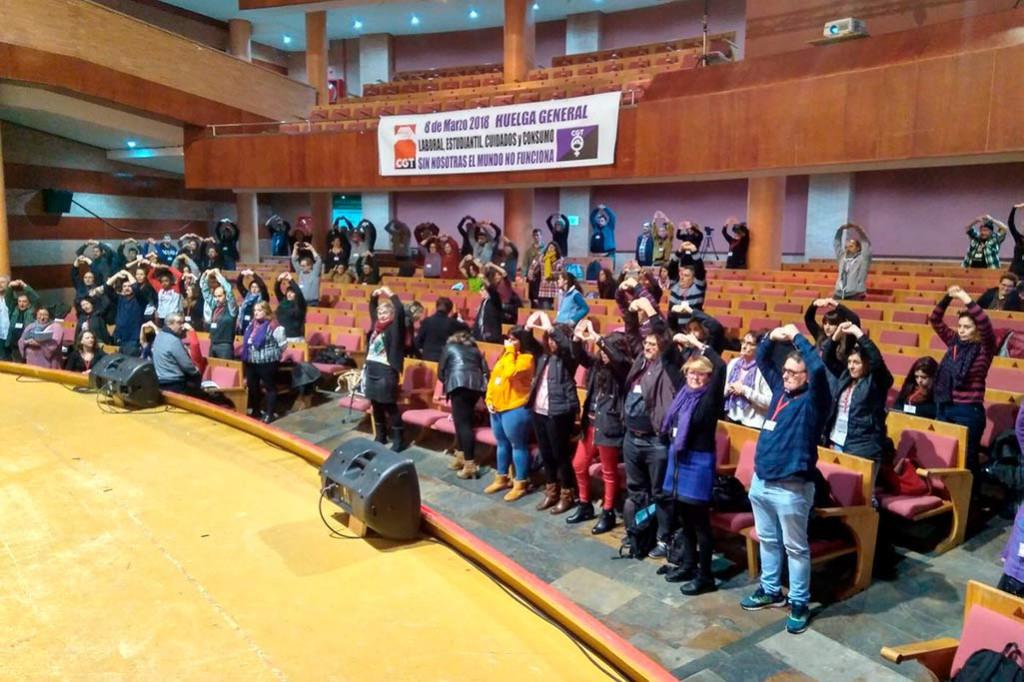 CGT convocará Huelga General el próximo 8 de marzo