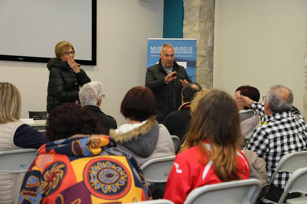 La Jornada de Recuperación de la Memoria Histórica celebrada en los Museos de Mequinensa relató el periplo de los exiliados de la Guerra Civil