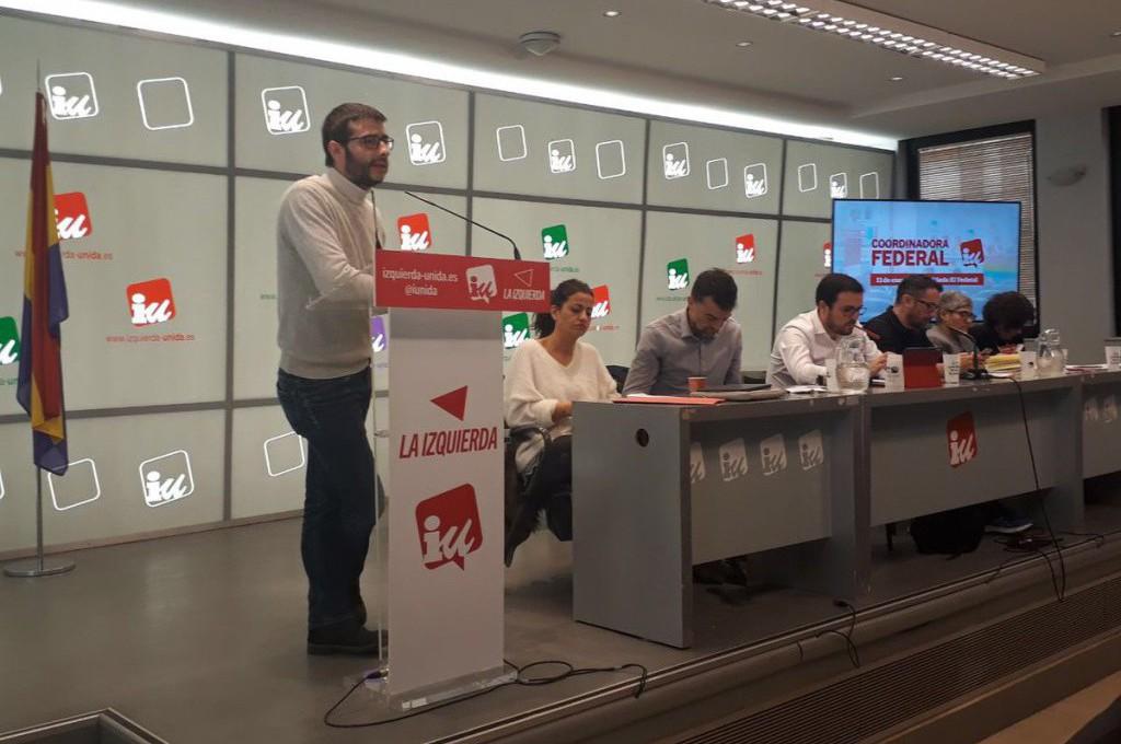 """IU Aragón reafirma su """"apuesta por la unidad de la izquierda"""", también junto con CHA y Podemos para las elecciones estatales"""