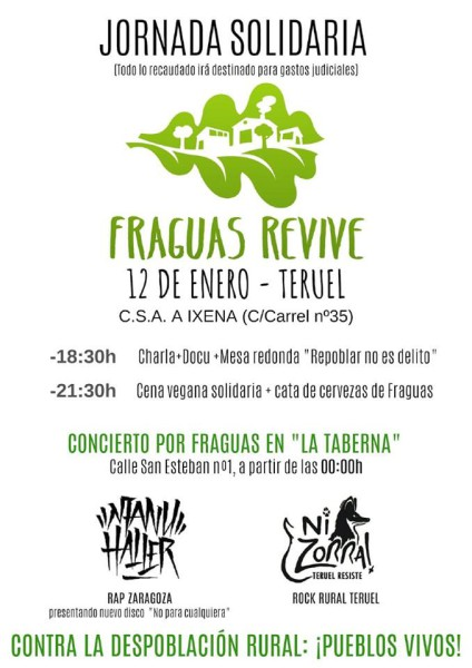 Jornada de apoyo a Fraguas