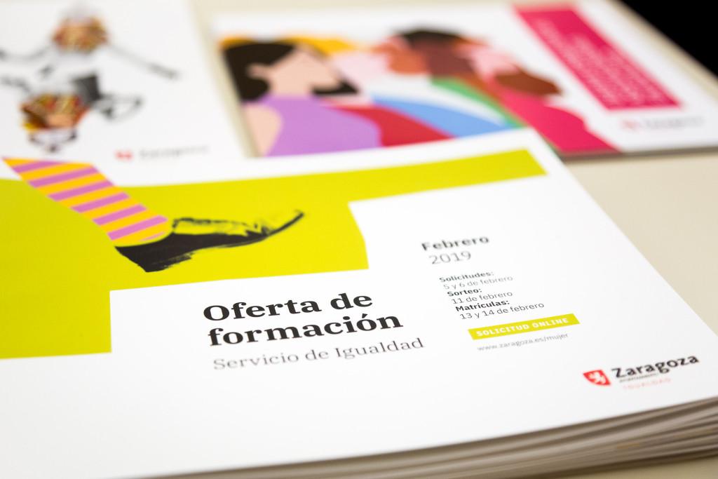 El Servicio de Igualdad del Ayuntamiento de Zaragoza oferta 529 plazas para 37 nuevos cursos