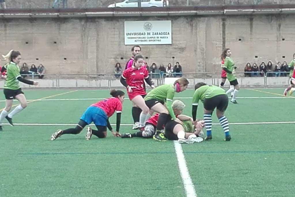 El Campus de Uesca reivindica el deporte femenino en la presentación de sus competiciones y equipos
