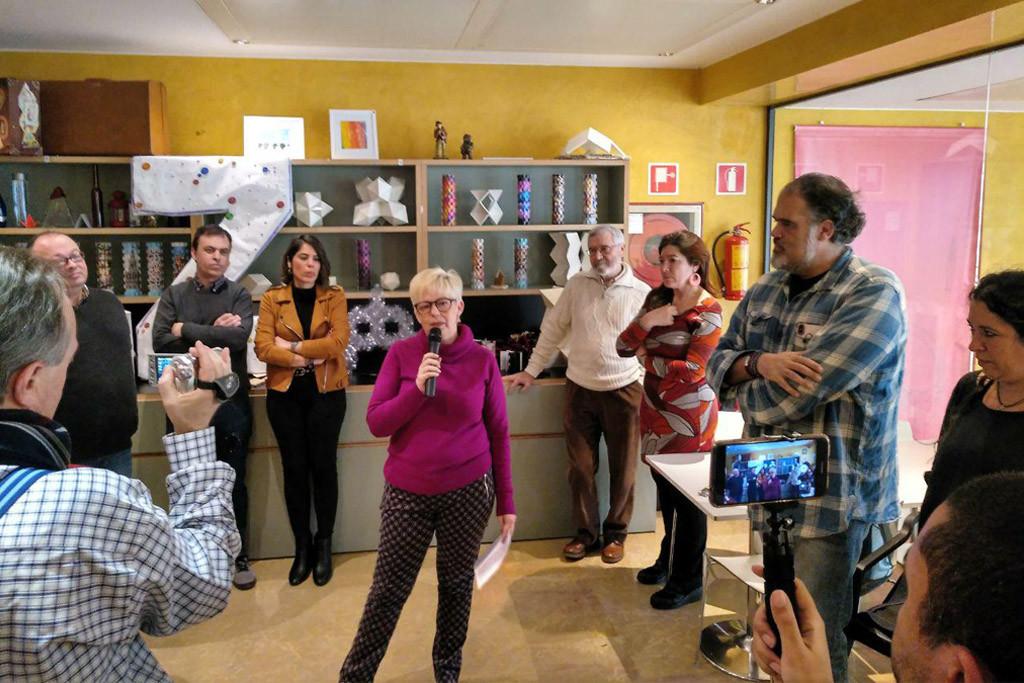 """Pilar Vaquero: """"Ya salimos ganando porque nuestra candidatura ha servido para que las direcciones de Podemos acepten a Pedro Santisteve como el mejor candidato a alcalde de ZeC"""""""