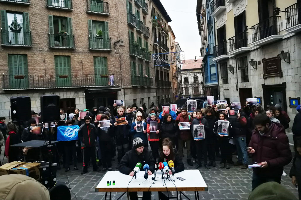 La Asamblea del Gaztetxe Maravillas convoca una movilización para el 19 de enero contra el «desalojo violento y encubierto»