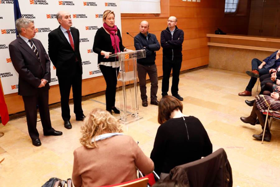 """El Gobierno de Aragón impulsa el programa """"Preparadas para el empleo"""", dotado con 4,8 millones de euros para el trabajo y la formación de la mujer"""