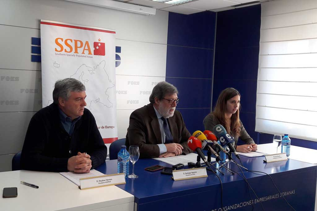 La Red SSPA busca aliados en Bruselas aportando la visión de las zonas escasamente pobladas del sur de Europa