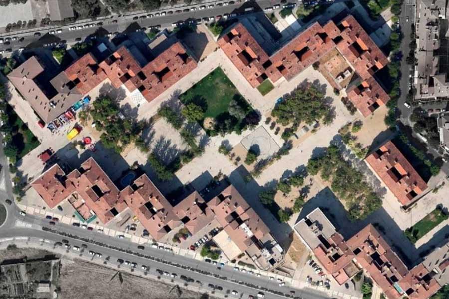 El Parque de San Martín de Uesca cambiará el hormigón y la grava por el cesped
