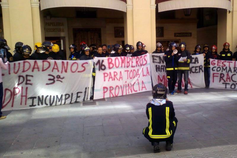 La Diputación de Uesca reserva a militares un 20% de las plazas de bomberos ofertadas