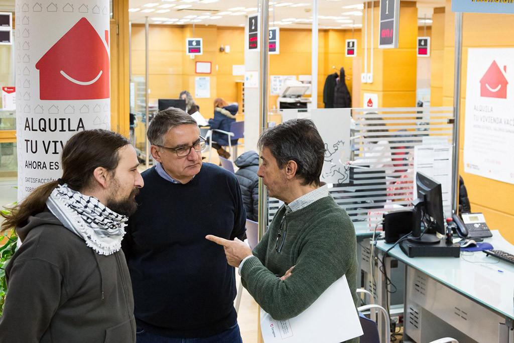 Zaragoza ha concedido más viviendas de alquiler social en cuatro años que en los tres mandatos anteriores
