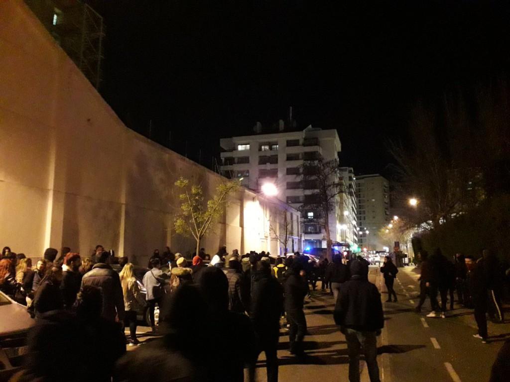 Al menos seis personas detenidas en Zaragoza durante una protesta antifascista por un acto de VOX