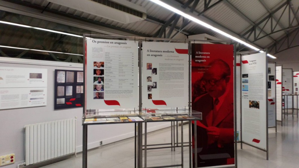 La exposición 'El aragonés, un Patrimonio común' podrá verse en Chaca hasta el día 3 de febrero