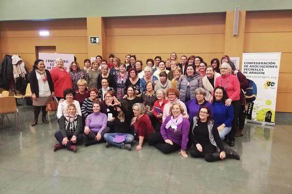 """El Encuentro Estatal de Mujeres Vecinales acuerda la creación de una Red para llevar la """"igualdad real"""" a todas sus organizaciones y territorios"""