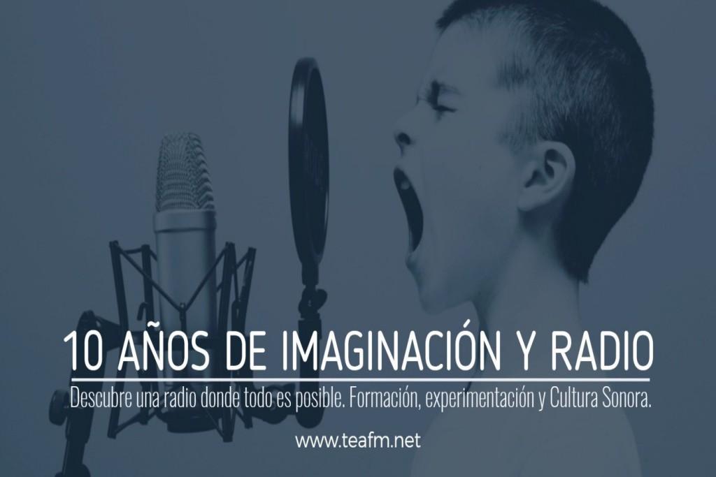 La Escuela Creativa de Radio TEA FM cumple 10 años de vida