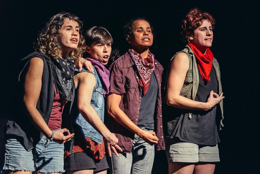 El feminismo de nueva ola inunda el Teatro de la Estación con 'Las Solidarias' de 'A Tiro Hecho'