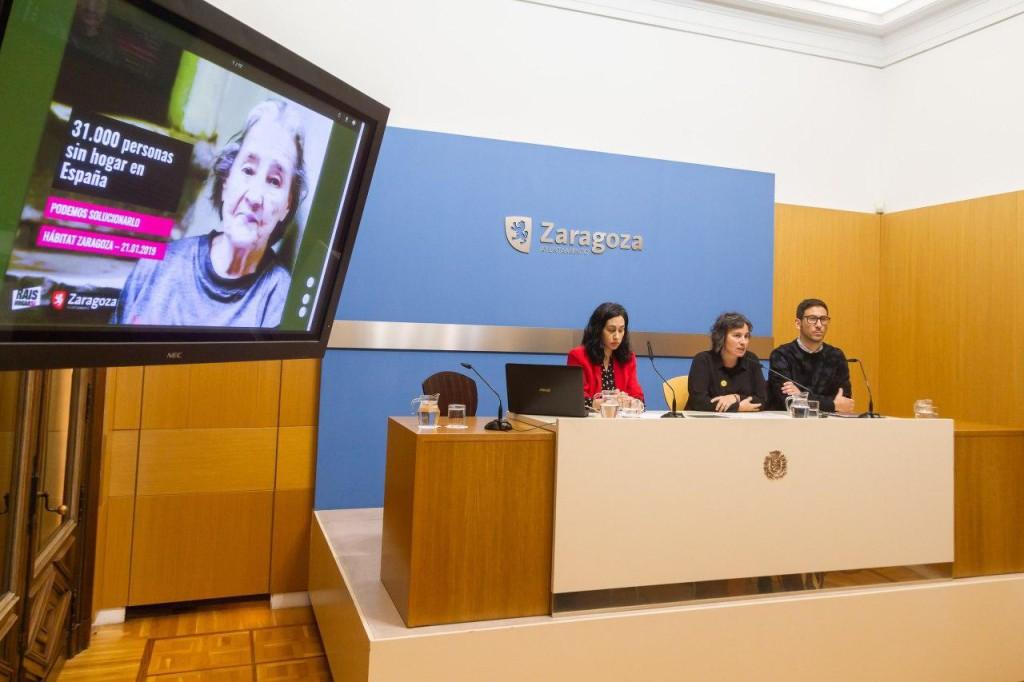 """Las diez personas sin hogar que accedieron a una vivienda municipal en Zaragoza mejoran """"notablemente"""" su calidad de vida"""