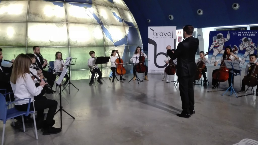 La música llega con el Año Nuevo al Planetario de Aragón