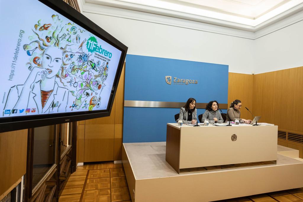 Zaragoza se suma a la visibilización de las mujeres científicas