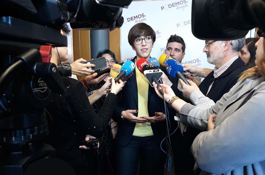 La candidatura de Violeta Barba gana en las primarias de Podemos Zaragoza