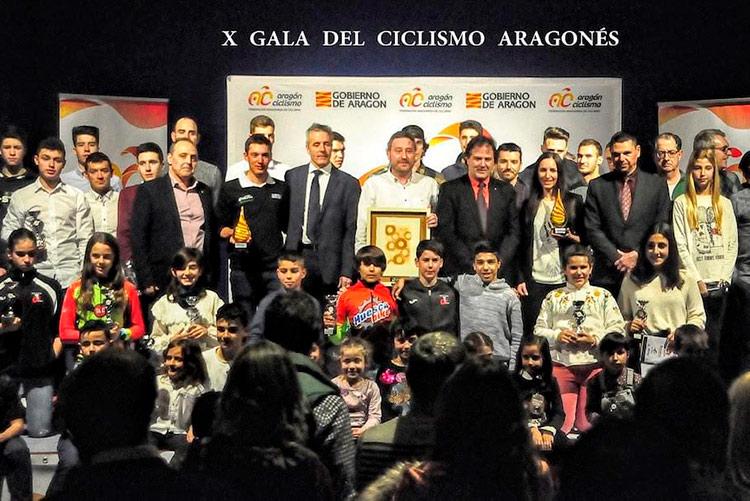Alba Barrau y Fernando Barceló mejores ciclistas de Aragón de 2018
