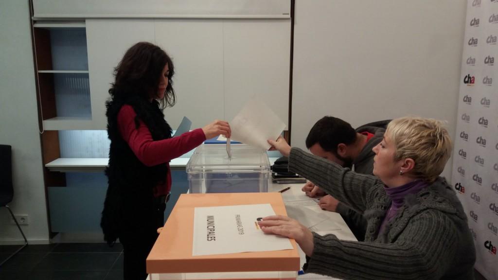 CHA configura en primarias los principales puestos para las elecciones aragonesas y municipales
