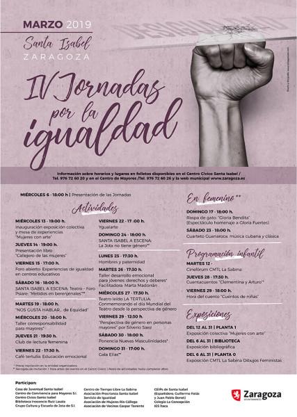 Jornadas Santa Isabel 2019