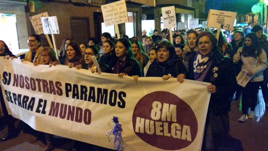 La Coordinadora 8M de la Comarca Ribera Alta del Ebro hace un llamamiento a la huelga general del 8M