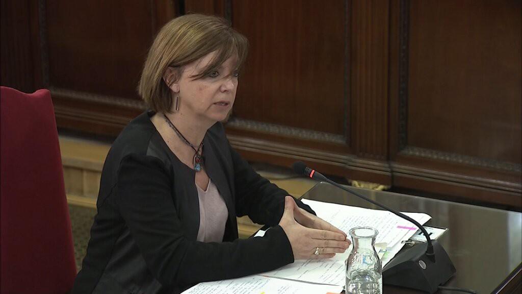 """Meritxell Borràs: """"Hacer un referéndum no es delito"""""""