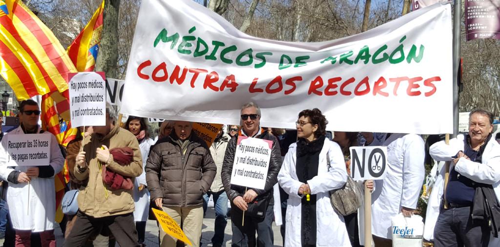"""CEMSATSE inicia paros parciales ante la """"situación límite"""" de la sanidad aragonesa"""