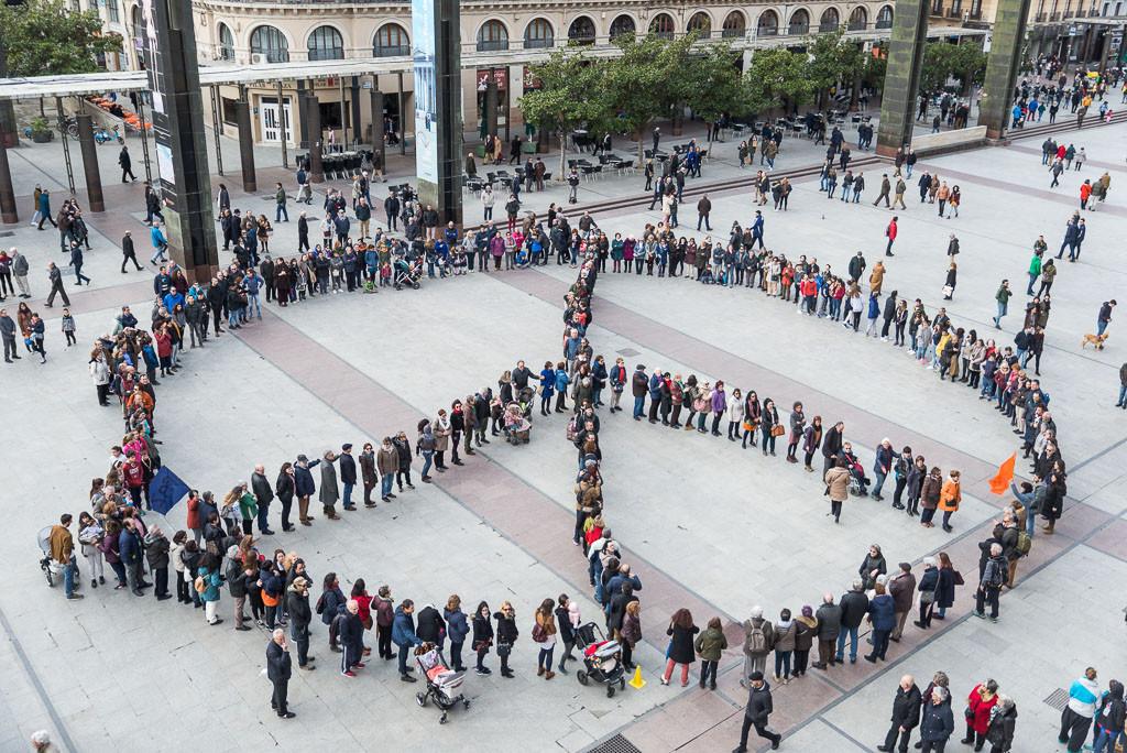 Símbolo de la Paz en Zaragoza
