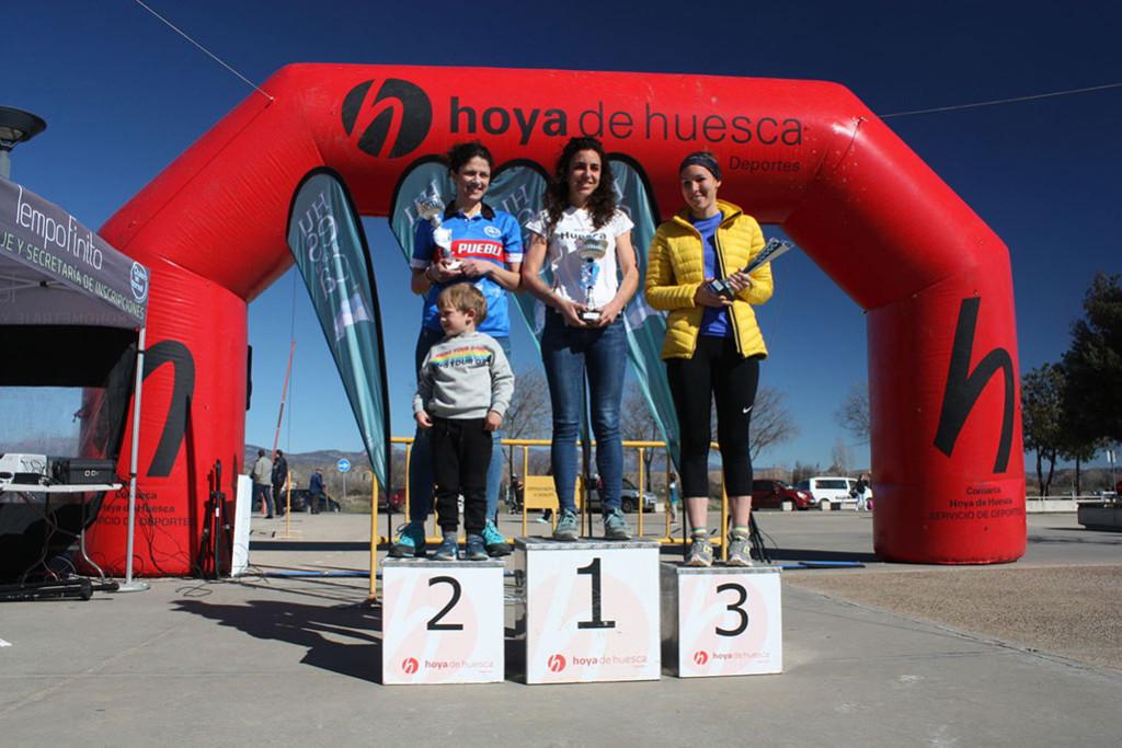 Elhabib Bouali y Sara Guérin se alzan con la II Trail 'Hoya de Huesca'