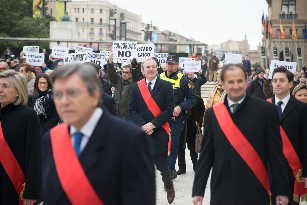 """MHUEL denuncia la """"mentira y la manipulación"""" de Jorge Azcón en la celebración de San Valero"""