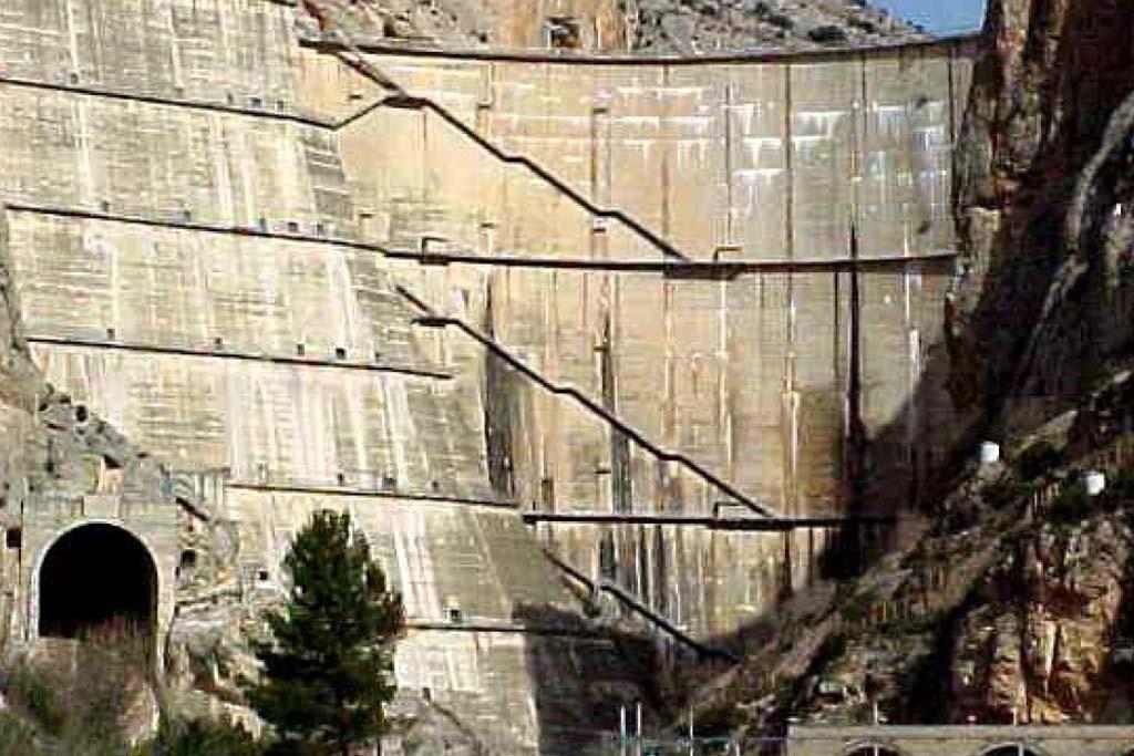 La seguridad de la presa de Canelles preocupa a Alto Aragón en Común