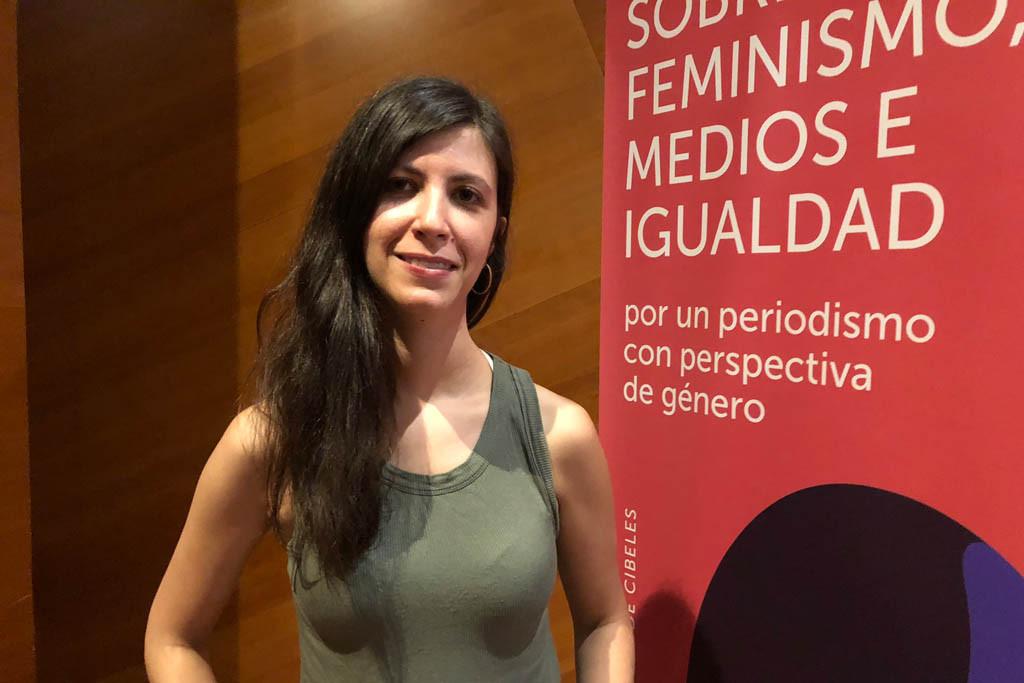 Ana Requena imparte en Zaragoza un taller de periodismo con perspectiva de género
