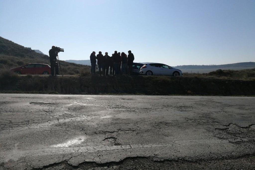 Podemos Aragón exige inversiones para mejorar las carreteras de acceso a Binazet/Binaced