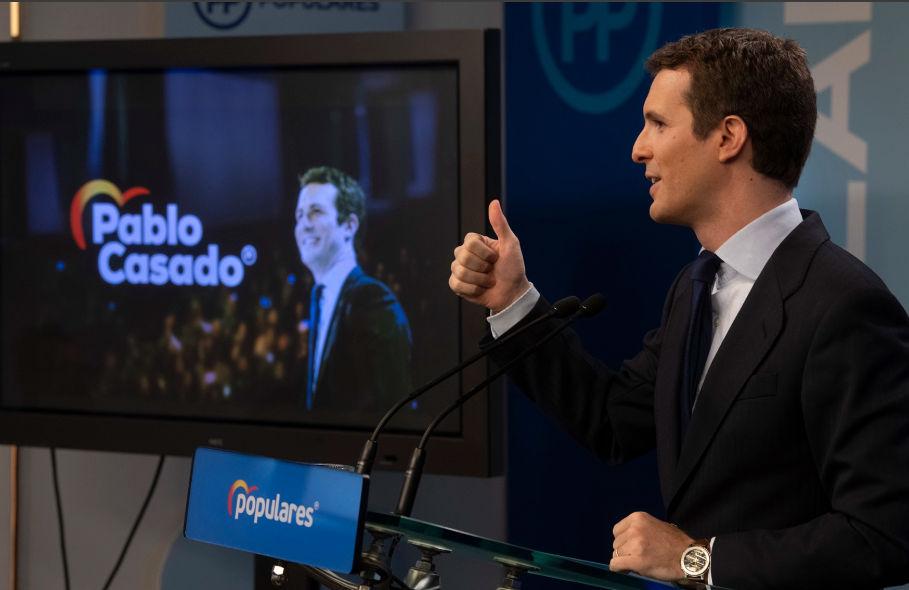 Pablo Casado, el ordenanza de la ultraderecha en el Senado