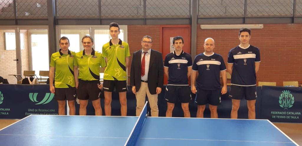 Paso de gigante del CN Helios de tenis de mesa tras vencer en su visita al CTT Mollerusa