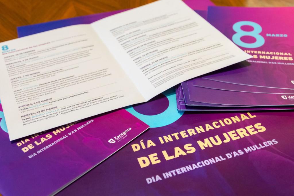 La lucha por la igualdad de género será la protagonista de las actividades programadas por el Ayuntamiento de Zaragoza durante marzo