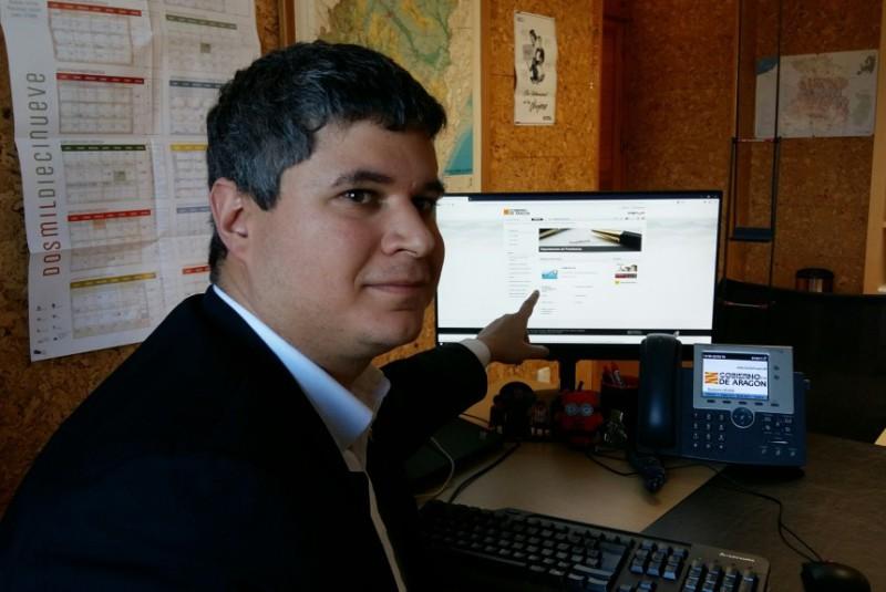 Una nueva ventana dedicada a la Memoria Democrática en la web del Gobierno de Aragón