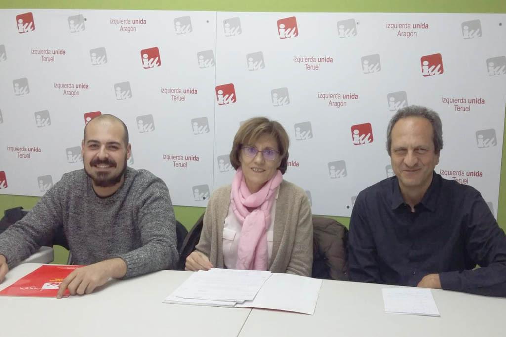 Izquierda Unida participará de Ganar Teruel en las próximas municipales